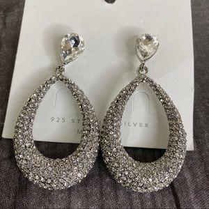 3/$25 Gorgeous 925 Silver Drop Earrings
